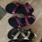 Like-new chacos and tevas