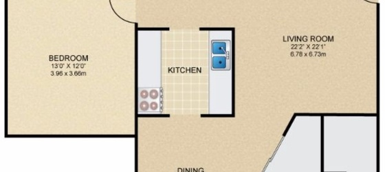 1 bedroom New Richmond