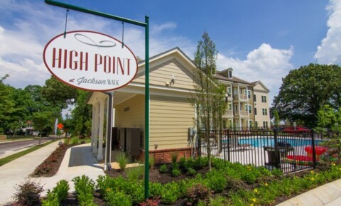 Apartments Near Lane High Point at Jackson Walk for Lane College Students in Jackson, TN