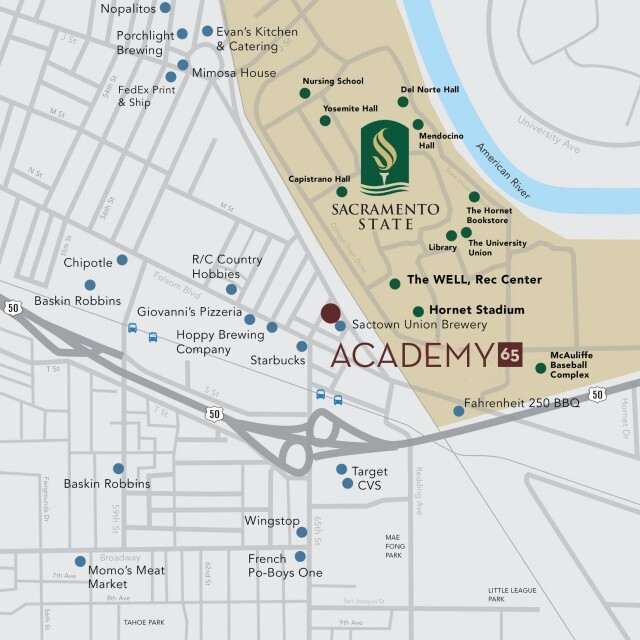 Find Your Hive At Academy 65 Brand New Apartments Near Sacramento