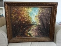 Framed Art-Textured