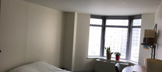 Summer sublet, 10th floor, large room, furnished - FEMALE ONLY
