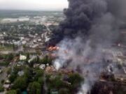 Quebec Up In Flames: Train Explosion Levels Part of Town