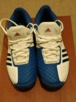 Adidas Mens Blue/White G12444 Size 9.5 Sneakers