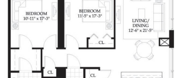 2 bedroom Beacon Hill